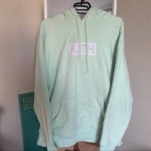 Kith Treats Mint Green Hoodie Pullover Sweater